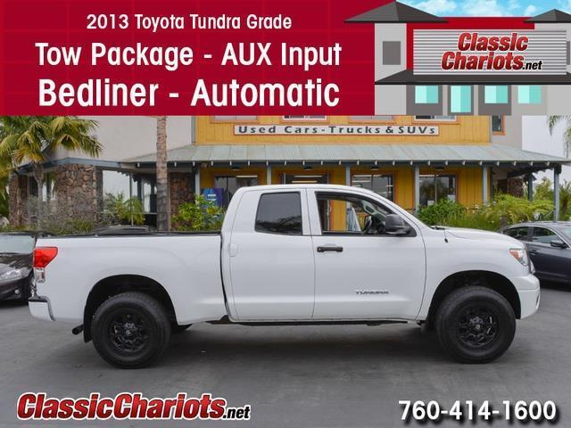 sold used truck near me 2013 toyota tundra grade with tow package bedliner and automatic. Black Bedroom Furniture Sets. Home Design Ideas