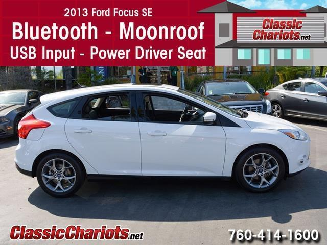 sold used car near me 2013 ford focus se leather moonroof with bluetooth moonroof usb. Black Bedroom Furniture Sets. Home Design Ideas