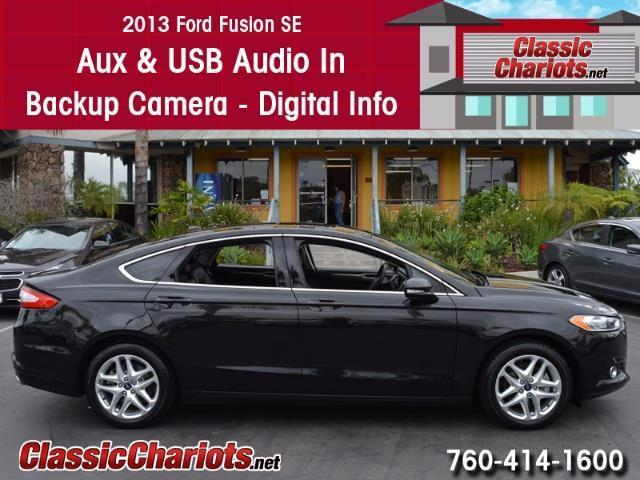 sold used car near me 2013 ford fusion se with usb input backup camera and digital info. Black Bedroom Furniture Sets. Home Design Ideas