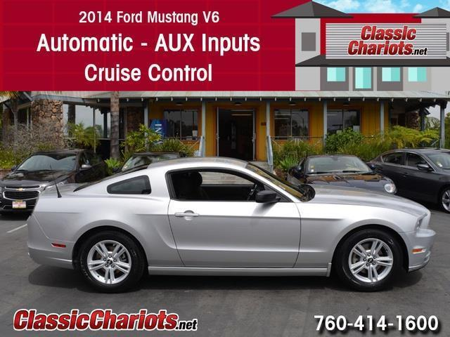 used car near me 2014 ford mustang v6 with automatic aux input and cruise control for sale. Black Bedroom Furniture Sets. Home Design Ideas