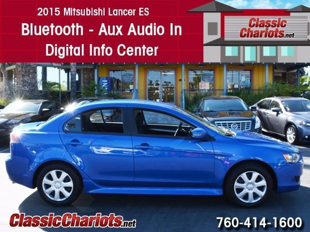 sold used car near me 2015 mitsubishi lancer es with bluetooth aux input and digital info. Black Bedroom Furniture Sets. Home Design Ideas