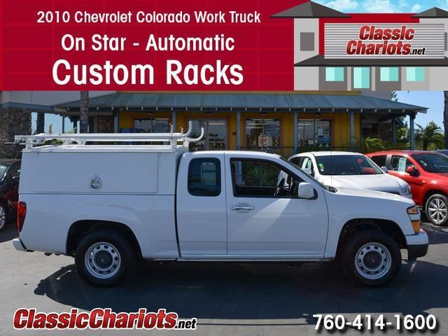 sold used commercial vehicle near me 2010 chevrolet colorado work truck with on star. Black Bedroom Furniture Sets. Home Design Ideas