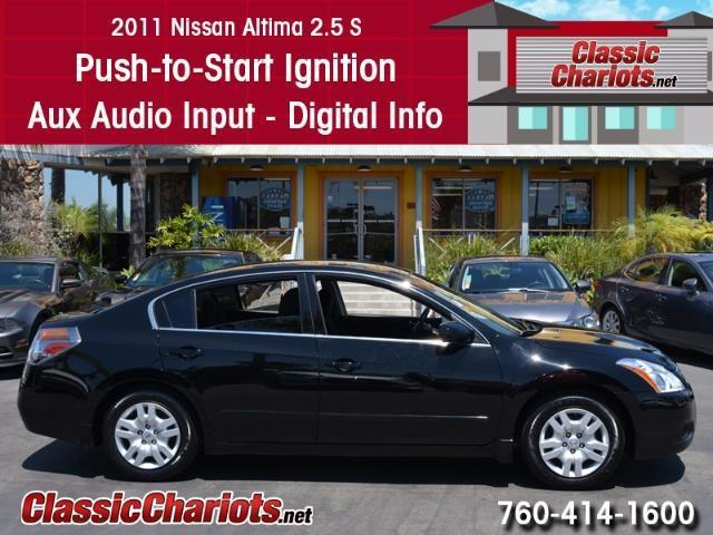 used car near me 2011 nissan altima 2 5 s with aux input digital info center and push to. Black Bedroom Furniture Sets. Home Design Ideas