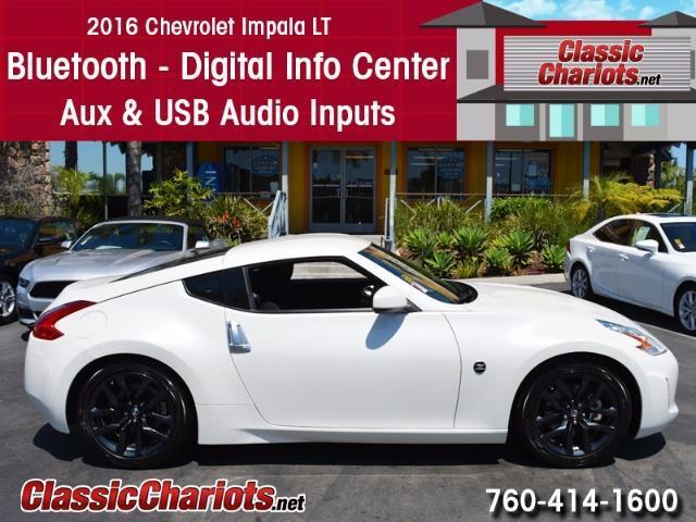 sold used car near me 2016 nissan 370z with bluetooth digital info center and usb input. Black Bedroom Furniture Sets. Home Design Ideas