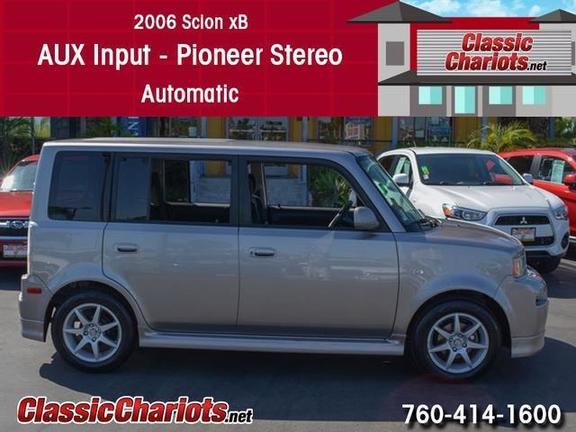 used car near me 2006 scion xb with aux input pioneer stereo and automatic for sale in san. Black Bedroom Furniture Sets. Home Design Ideas
