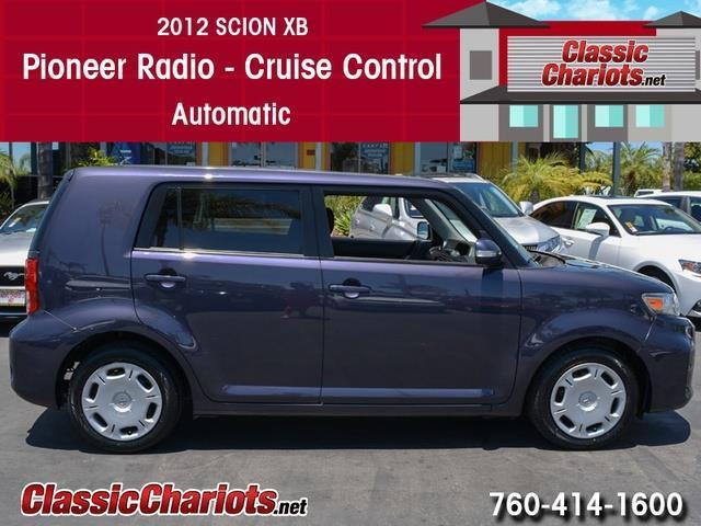 sold used car near me 2012 scion xb with pioneer radio cruise control and automatic for. Black Bedroom Furniture Sets. Home Design Ideas