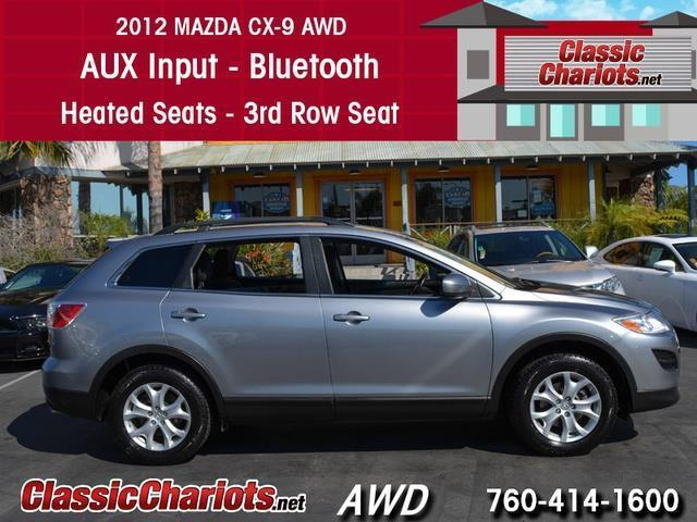 used suv near me 2012 mazda cx 9 sport third row seat with bluetooth heated seats and 3rd. Black Bedroom Furniture Sets. Home Design Ideas