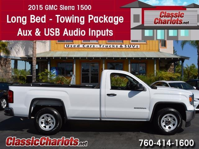 used truck near me 2015 gmc sierra 1500 with long bed towing package and usb input for sale. Black Bedroom Furniture Sets. Home Design Ideas