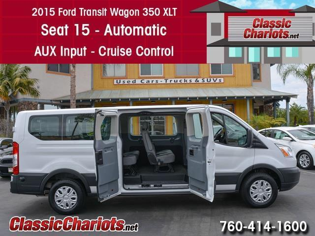 Kia Dealership Near Me >> Used Passenger Van Near Me - 2015 Ford Transit 350 XLT 15 ...
