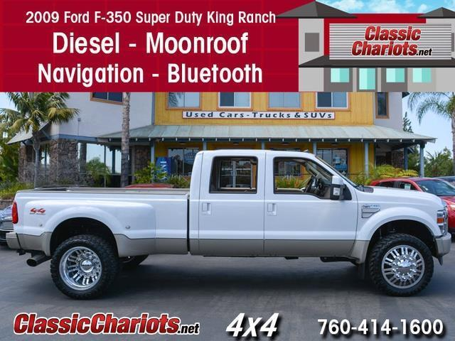 sold**used truck near me - 2009 ford f-350 king ranch diesel dually