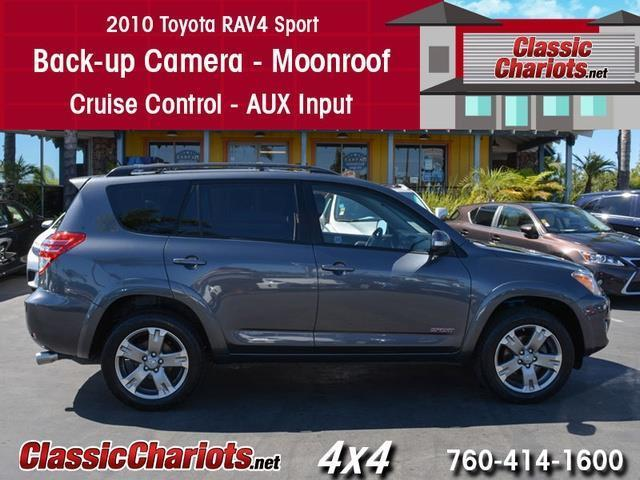 sold used suv near me 2010 toyota rav4 sport 4x4 with back up camera moonroof and cruise. Black Bedroom Furniture Sets. Home Design Ideas