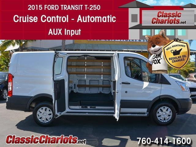 Ford Dealership San Diego >> **SOLD**Used Commercial Vehicle Near Me – 2015 Ford Transit 250 Cargo Van with Cruise Control ...