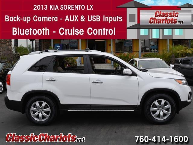 sold used suv near me 2013 kia sorento lx with back up camera usb input and bluetooth for. Black Bedroom Furniture Sets. Home Design Ideas