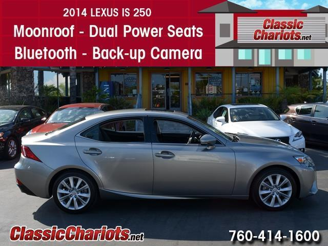 sold used car near me 2014 lexus is 250 with moonroof dual power seats and back up camera. Black Bedroom Furniture Sets. Home Design Ideas