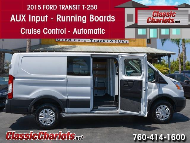 sold used passenger van near me 2015 ford transit 250 cargo van with aux input running. Black Bedroom Furniture Sets. Home Design Ideas