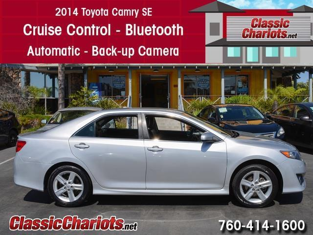 used car near me 2014 toyota camry se with bluetooth cruise control and back up camera for. Black Bedroom Furniture Sets. Home Design Ideas