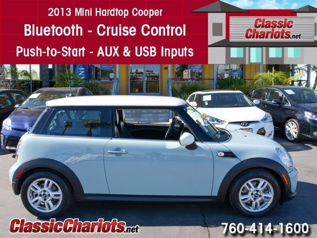 Used Car Near Me - 2013 Mini Hardtop Cooper with Bluetooth, Cruise Control, and Push to Start for Sale in San Diego - Stock # 13944