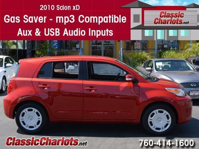 Used Car Near Me 2010 Scion Xd With Gas Saver Mp3 And
