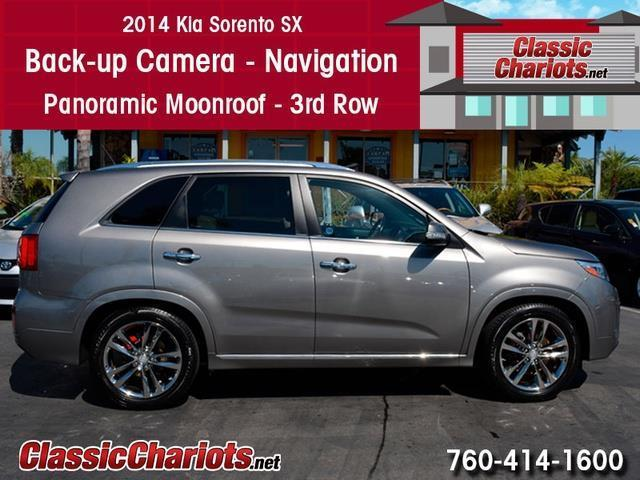 used suv near me 2014 kia sorento sxl nav 3rd row with back up camera navigation and. Black Bedroom Furniture Sets. Home Design Ideas