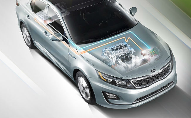 What does the Kia Optima Hybrid cost?