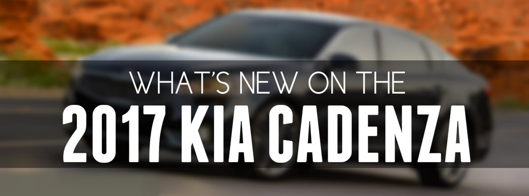 Changes for 2017 Kia Cadenza