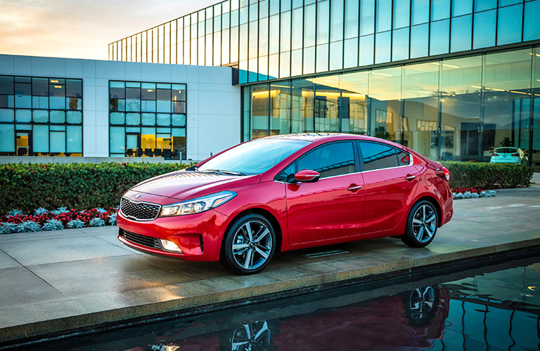2017 Kia Forte Red paint