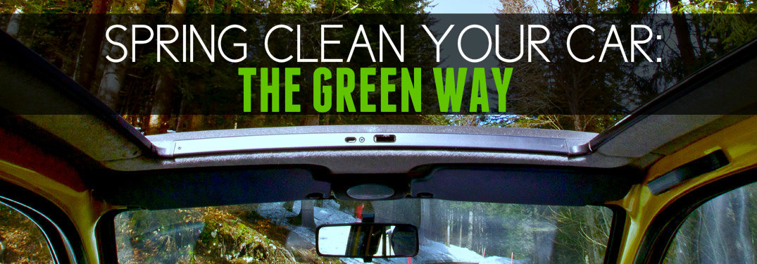 Spring Cleaning Your Car No Chemicals