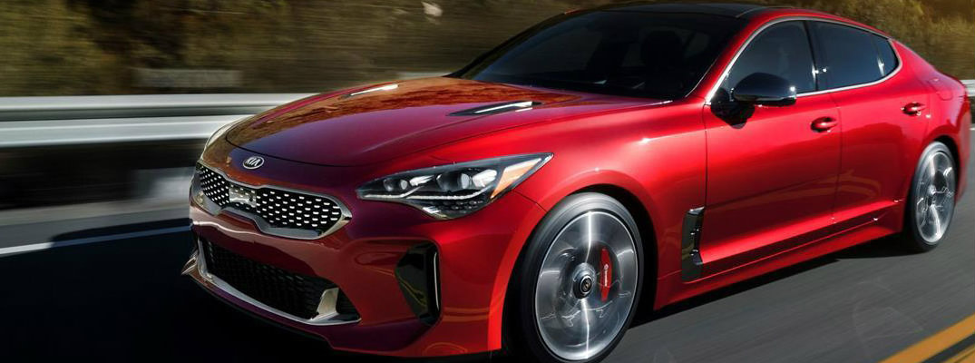 2018 Kia Stinger Model Image Gallery