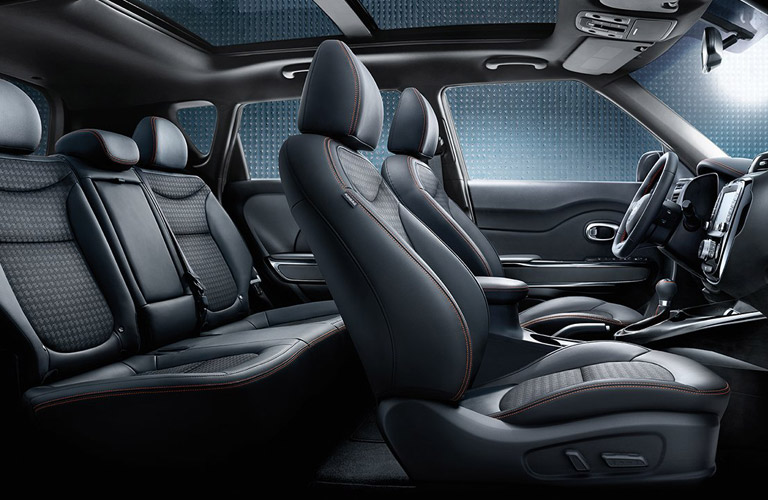 2017 Kia Soul Interior Seating Space