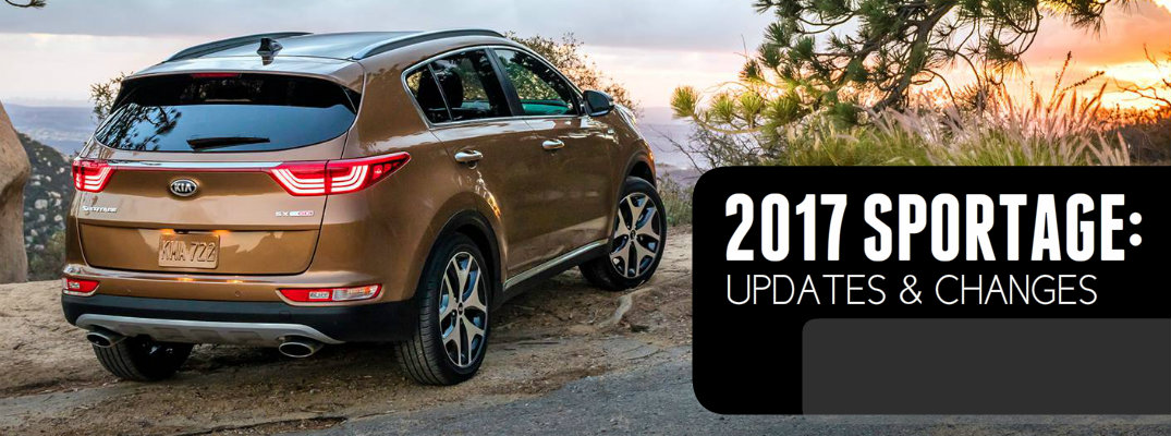 2017 Kia Sportage Updates and Changes