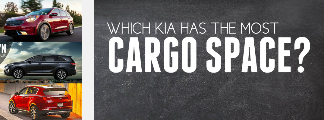 Which Kia Model Has the Most Cargo Space?