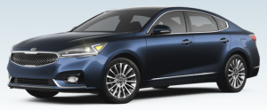 2017 Kia Cadenza Gravity Blue