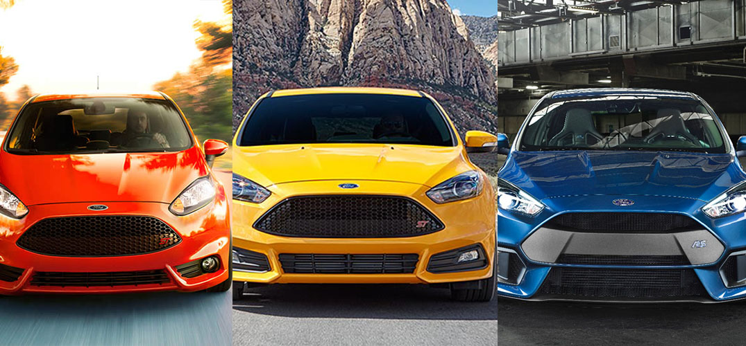 Ford Fiesta St Vs Focus St Vs Focus Rs 2017 2018 Best Car