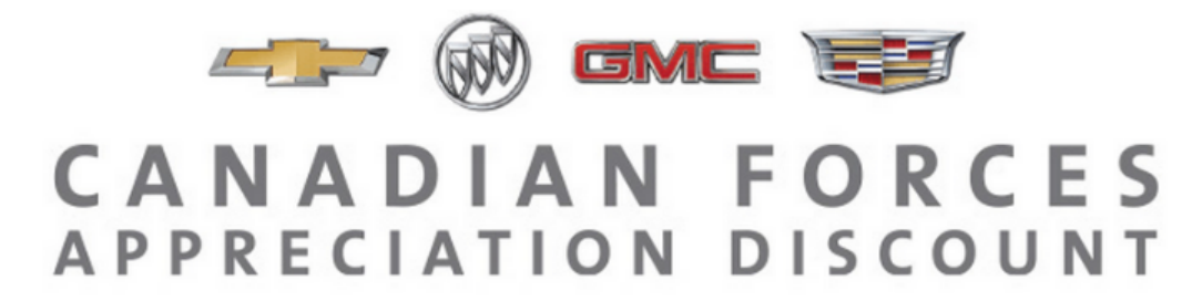 General Motors Canadian Forces Appreciation Discount