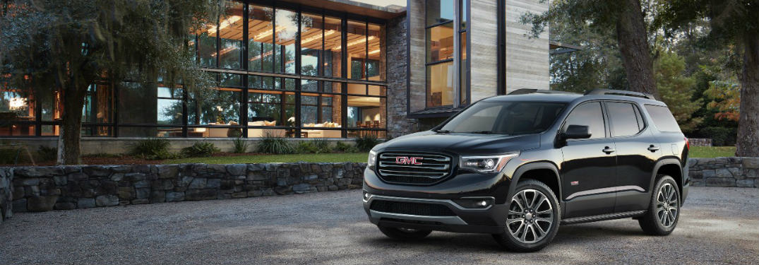 2017 gmc acadia powertrain and fuel economy. Black Bedroom Furniture Sets. Home Design Ideas