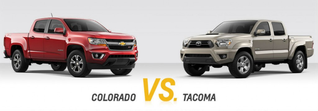 chevy colorado vs toyota tacoma comparison. Black Bedroom Furniture Sets. Home Design Ideas