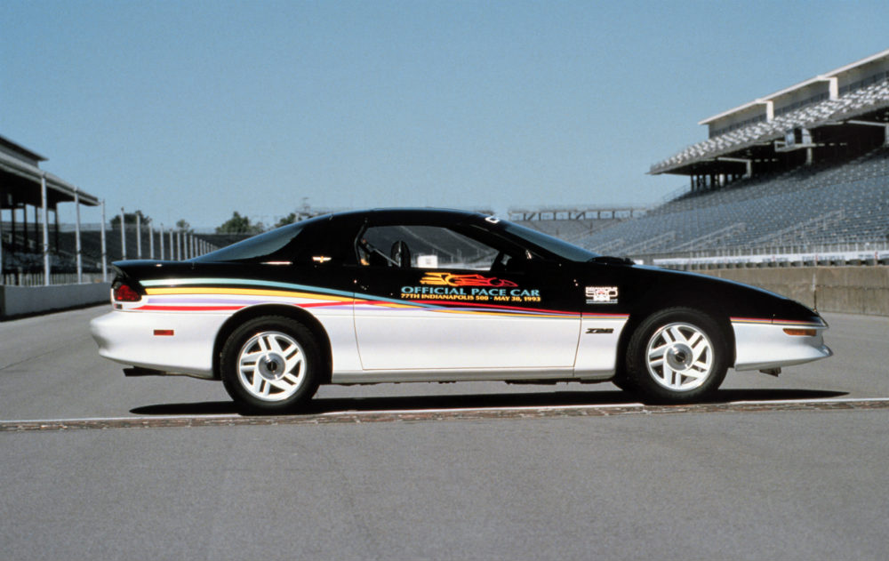 1993 Chevy Camaro Z28 Pace Car for the Indianapolis 500