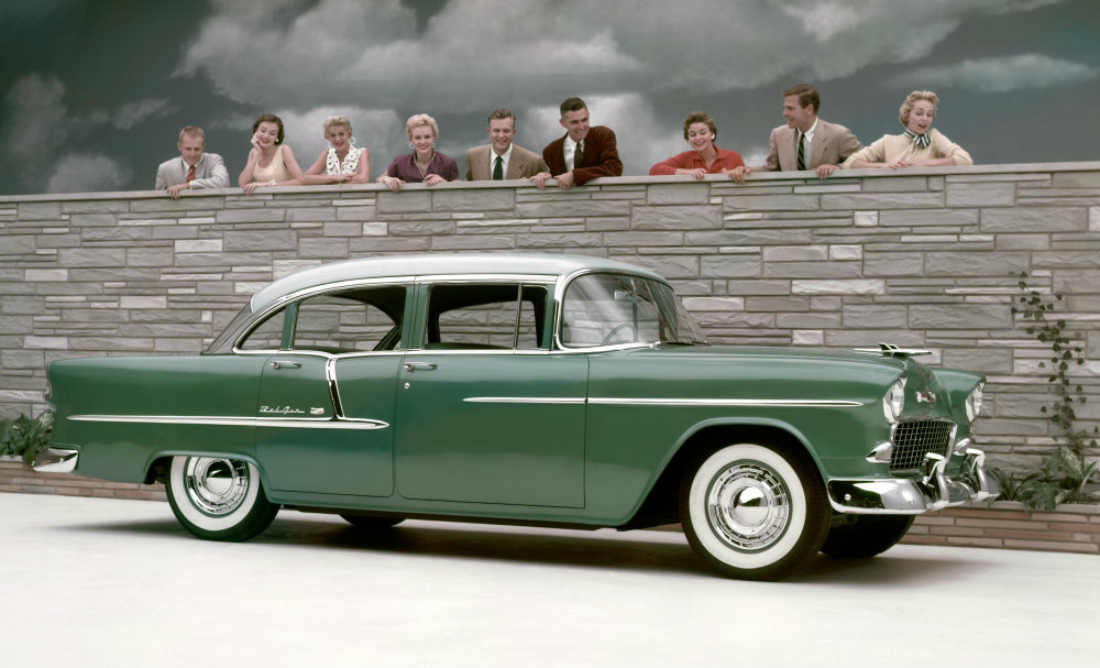 Flashback friday 1955 chevy bel air sport coupe - 1955 chevrolet belair sport coupe ...
