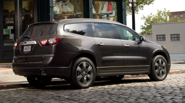2017 Chevy Traverse Graphite Edition may or may not be available in Manitoba