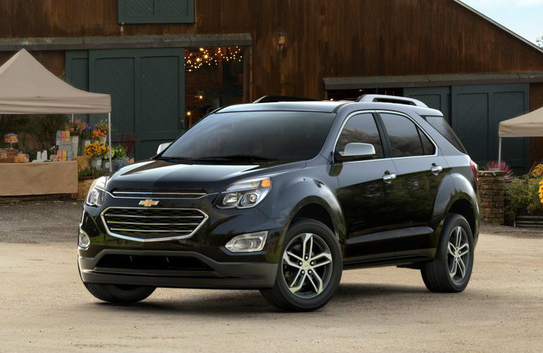 2017 Chevy Equinox in Black