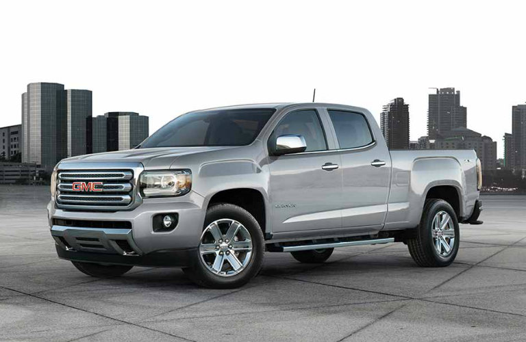 Gmc Sierra Sle Vs Slt >> 2017 GMC Sierra 1500 vs 2017 GMC Canyon