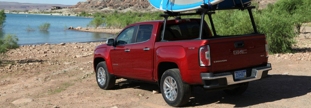 2017 gmc canyon release date and trim levels. Black Bedroom Furniture Sets. Home Design Ideas