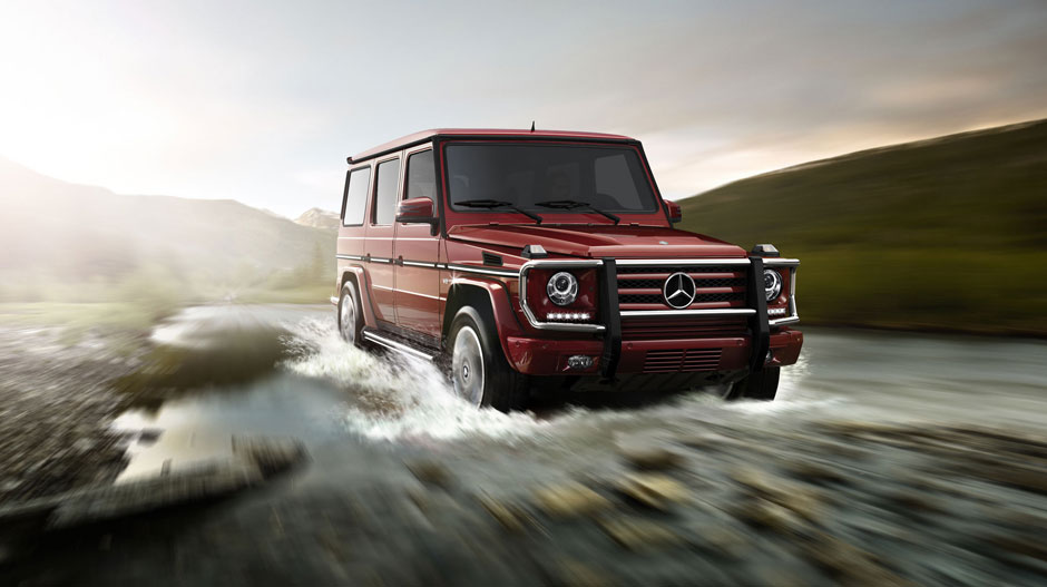 2014 mercedes benz g class off road capabilities