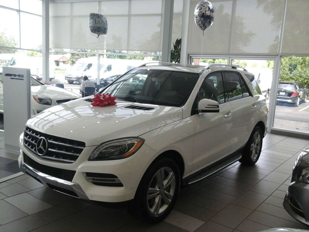 Mercedes-Benz ML350 Gift