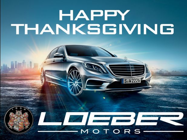 Happy Thanksgiving From Loeber Motors Loeber Motors