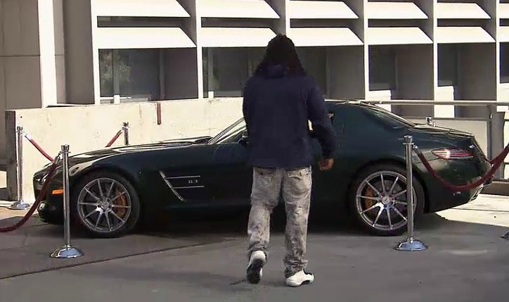 Marshawn Lynch Car The League EBDBBnB