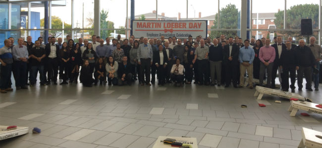 Loeber Motors Honors Employees With Martin Loeber Day