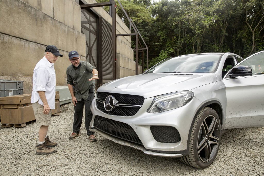 Mercedes-Benz GLE- Coupe Jurassic World
