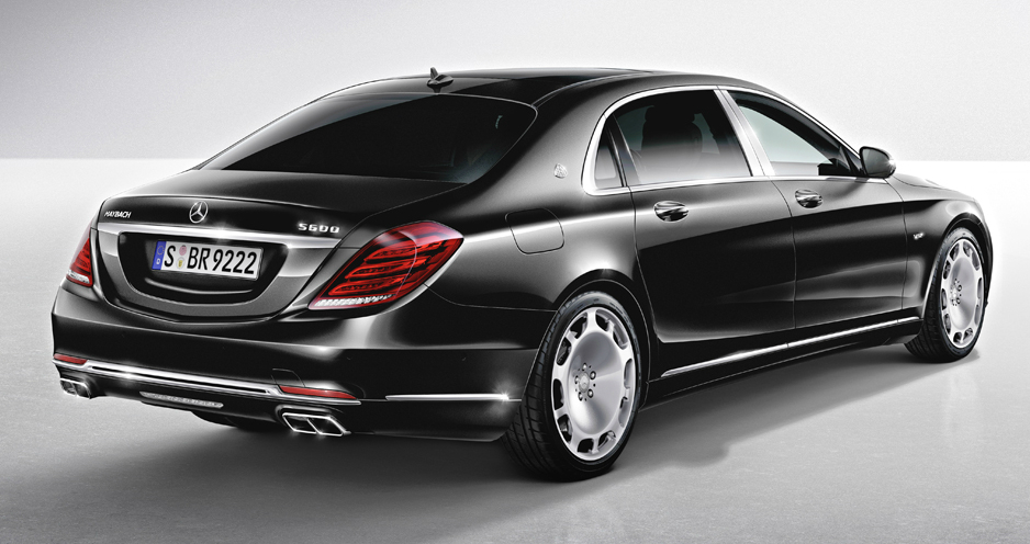 Awesome Mercedes Maybach S600 Rear