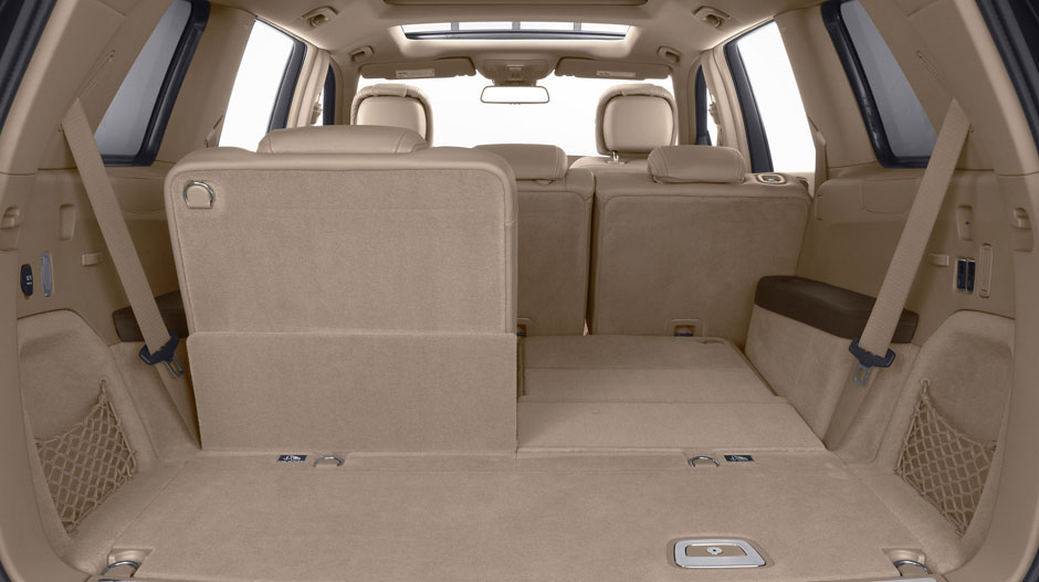2014 3rd row seating suvs with most cargo space autos post. Black Bedroom Furniture Sets. Home Design Ideas
